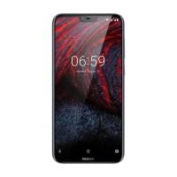 Cuantik Orii Nokia 6.1 Plus Smartphone - 4/64Gb - Garansi Resmi - Biru