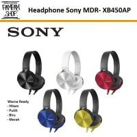 Headphone Gaming Sony MDR-XB450AP Extra Bass Bas Headset Earphone