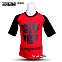 Kaos Anak Couple Karakter Transformers Reglan