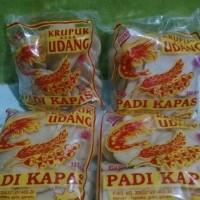 Krupuk Udang Padi Kapas size sedang 250gr asli Indramayu