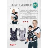 Kiddy KD 72-01 Baby Carrier Ergo   King of Baby - Produk Bayi