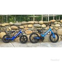 Strider Bike 14 x 14x Balance Bike 2in1 pedal push bike sepeda anak
