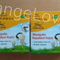 Tiger balm mosquito repellent patch ORIGINAL