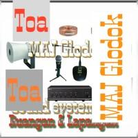 Paket sound system Toa 1 amplifier dan 1 horn speaker