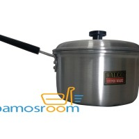 U 18cm Panci Susu/Milk Pot Serbaguna Halco 18 cm Bahan Aluminium Tebal