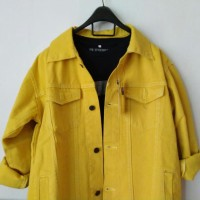 Jaket Jeans Kuning | Yellow Jacket | Jaket Levis | Jaket Warna | Denim
