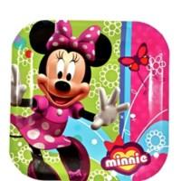"Piring Kertas 9"" Karakter Minnie Mouse - Pesta Ulang Tahun"