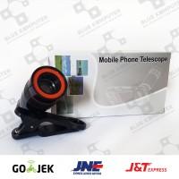 Lensa Telezoom 8X Jepit - TELEZOOM