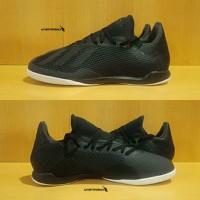 Adidas X Tango 18.3 IN - Black. Sepatu Futsal Original Rare Item Top.