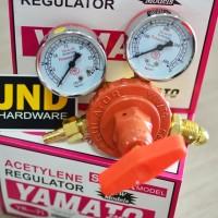 """Regulator Acetylene / Acetylin Yamato Super """"China"""" type YR-71"""