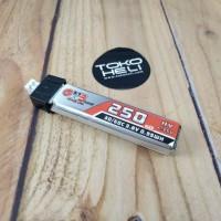 Gaoneng GNB 3.8V 250mAh 30C 1S HV Lipo Battery PH2.0 Mobula7 UR65 Tiny