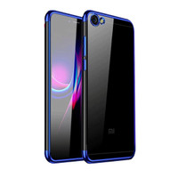Redmi Note 5a Prime Shiny Electro Plating Clear Chrome Soft Case