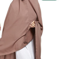 Hijab Syari - Khimar Jumbo Pet Wollycrape