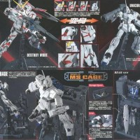 Yuhuu Good! Mg Unicorn Gundam Hd Color +Ms Cage- Bandai