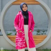 Terlaris!!! Hijacket / Jaket Hijab [Premium Rosepink] Termurah
