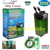 Filter Aquarium JEBO 829 External Canister Aquarium Filter