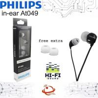 Headset Philips Extra Bass AT 049 Handsfree Earphone