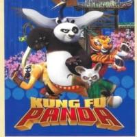 Selimut Bonita 3D uk 160x200 motif Kungfu Panda