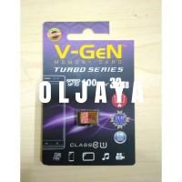 Kartu memori Vgen 32GB isi 3000 lagu mp3 Original+CardRider+Headset