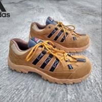 Ready Stok Sepatu Boots adidas delta boots safety ujung besi warna