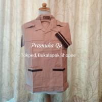 Baju Siaga Pramuka Pendek merk SERAGAM