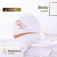 Pradiskin Glow Skincare Body Cream Pemutih Badan Aman Resmi BPOM