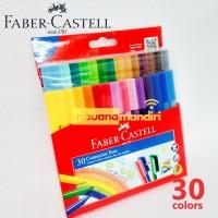 Connector Pen 30 Warna Faber Castell - Spidol Faber Castell Warna