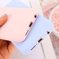 Candy Color Case for Huawei Y6 Y9 Y5 Prime 2018 P20 P9 P10 Mate 10 Lit