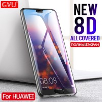 GVU 8D Full Cover Tempered Glass For Huawei P20 Lite P20 Pro Screen Pr