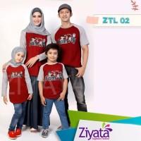 Baju Couple Baju Keluarga Baju Muslim Baju Anak Kaos Ziyata Sarimbit 1