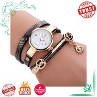 Jam Tangan Wanita Impor Duoya Fashion Gelang Watch Gold Kuarsa Hadiah