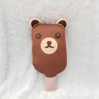 Kado Boneka Mainan Anak & Dewasa Model Ice Cream - Brown Bear