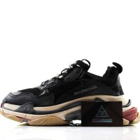 Sneaker Balenciaga Triple S Black Quality Mirror 1:1 PK God