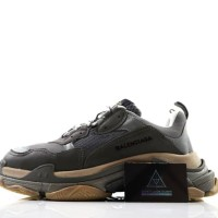 Sneaker Balenciaga Triple S Grey PK God Mirror Quality 1:1 Like Ori