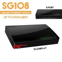 jual TENDA SG108 GIGABIT Desktop Switch Hub beli