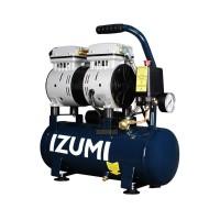 IZUMI 0.75HP 9 liter Oilless Compressor - Kompresor listrik SILENT