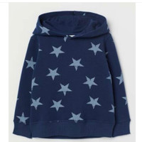 sweater anak hoodies motif star H&M original branded
