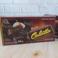 Colatta Dark Compound 250 GR Coklat Hitam Compound Collata