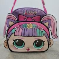 Tas selempang anak Lol Surprise kantong