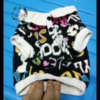 Snoopy Polo Shirt Baju Atasan Kemeja Anjing Kucing size S Import
