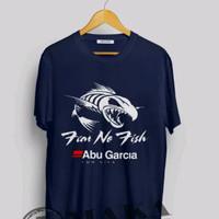 KAOS/TSHIRT/BAJU MANCING FEAR NO FISH ABU GARCIA 001