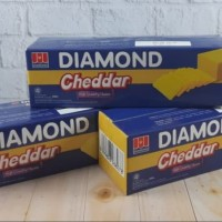 Cheese Keju Diamond Cheddar 500 Gr