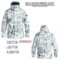 [CB] QUIKSILVER Jaket Branded / Mission Printed Jacket