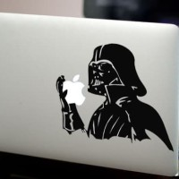 Premium Decal Macbook Stiker Darth Vader