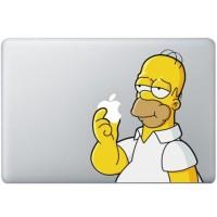 Premium 077 macbook decal sticker vinyl aksesoris laptop shimpson