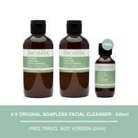 Sensatia Botanicals Original Soapless Facial Cleanser Twin Pack