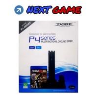 Dobe Multifunctional Cooling Stand / Fan for PS4 Slim dan Pro