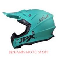 helm croos atau triall JPX solid