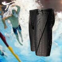 Celana Renang Pria Dewasa Surfing Bahan Polyester Nyaman Dipakai - Hitam, XL
