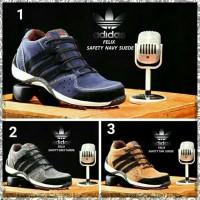 Sepatu Adidas Safety Pria sepatu Sneakers Cowok Kets Formal Kerja Baru